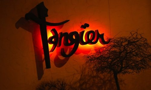 the tangier sign