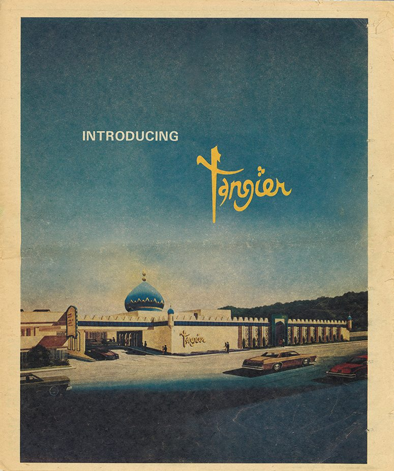 ABJ Introducing Tangier 1977 A-1