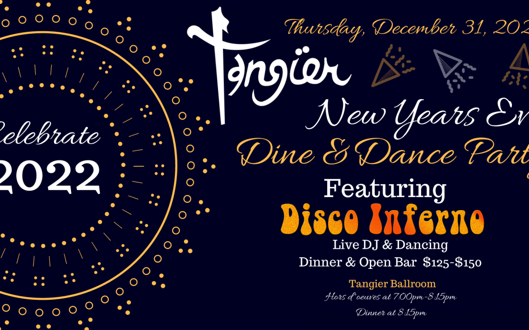 2022 NYE Dance Party Feat. Disco Inferno